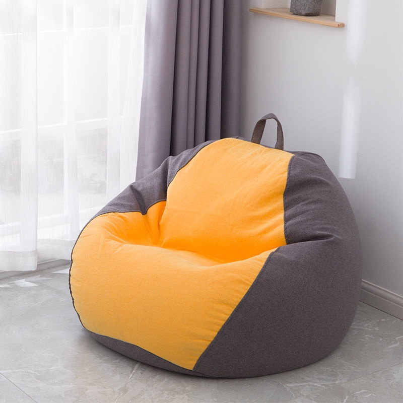 With Filling Large Seat Bean Bag Chair, Big Bean Bags For Living Room