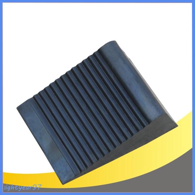 1//10 RC Car Scale Metal ALLOY TIRE STOP WHEEL CHOCKS Tyre Stopper Blocks