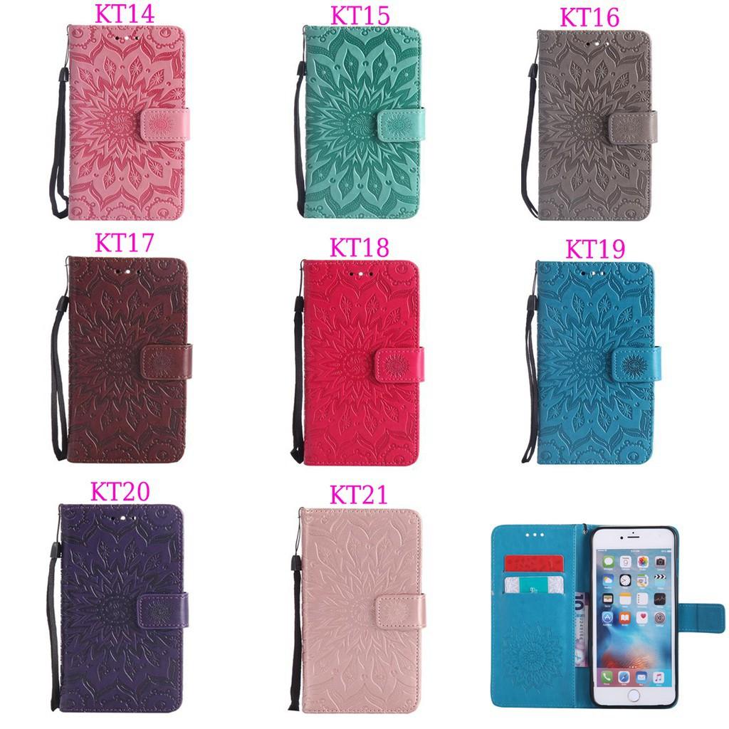 Sony Xperia Xa1 Ultra Classic Fashion Embossing Wallet