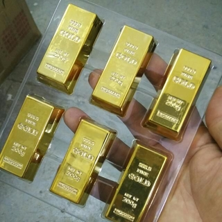 Mini Gold Bar Bullion Magnetic Holder And Paper Weight