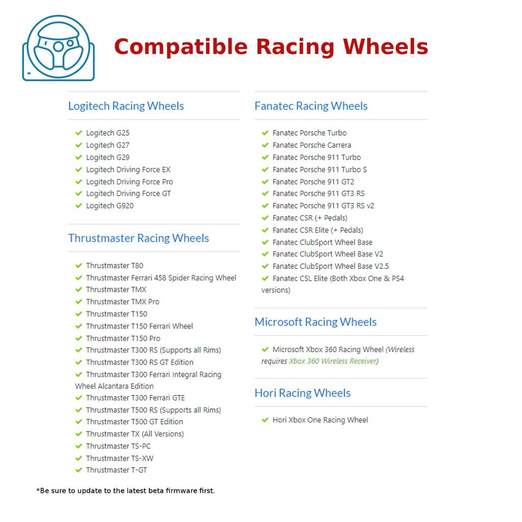 Drivehub Racing Wheel Converter For Xbox One Ps4 Shopee Singapore