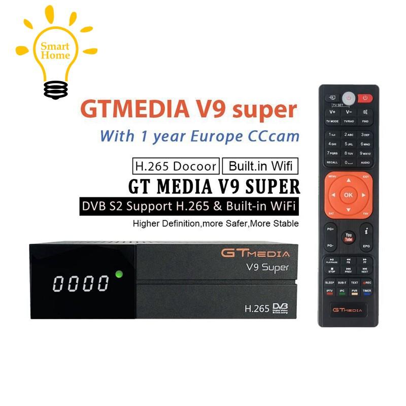 Gtmedia V9 Super Satellite Receiver Bult-In Wifi Full Hd Dvb-S2/S