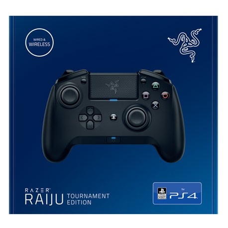 Ps4 Razer Raiju Tournament Edition Shopee Singapore Customize your razer raiju mobile controller with this easy to use mobile app that allows you to configure your controller's button mappings and thumbstick sensitivity. ps4 razer raiju tournament edition