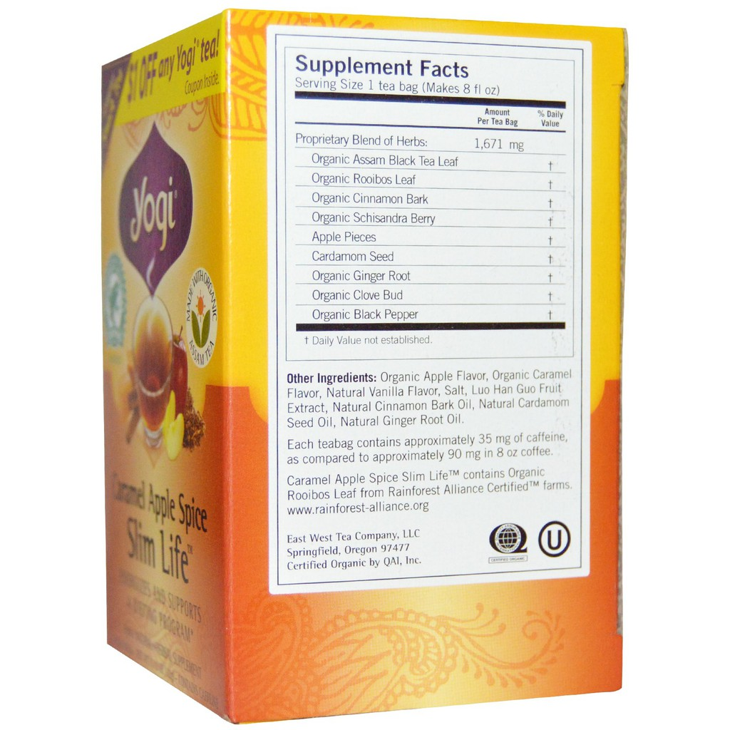 Caramel Apple Spice, 16 Tea Bags