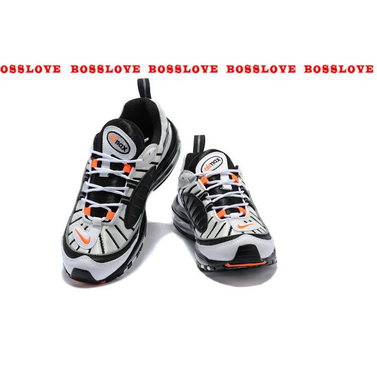 best service 5f126 d804b Supreme x Air Max 98 men Sports Running Shoes 090