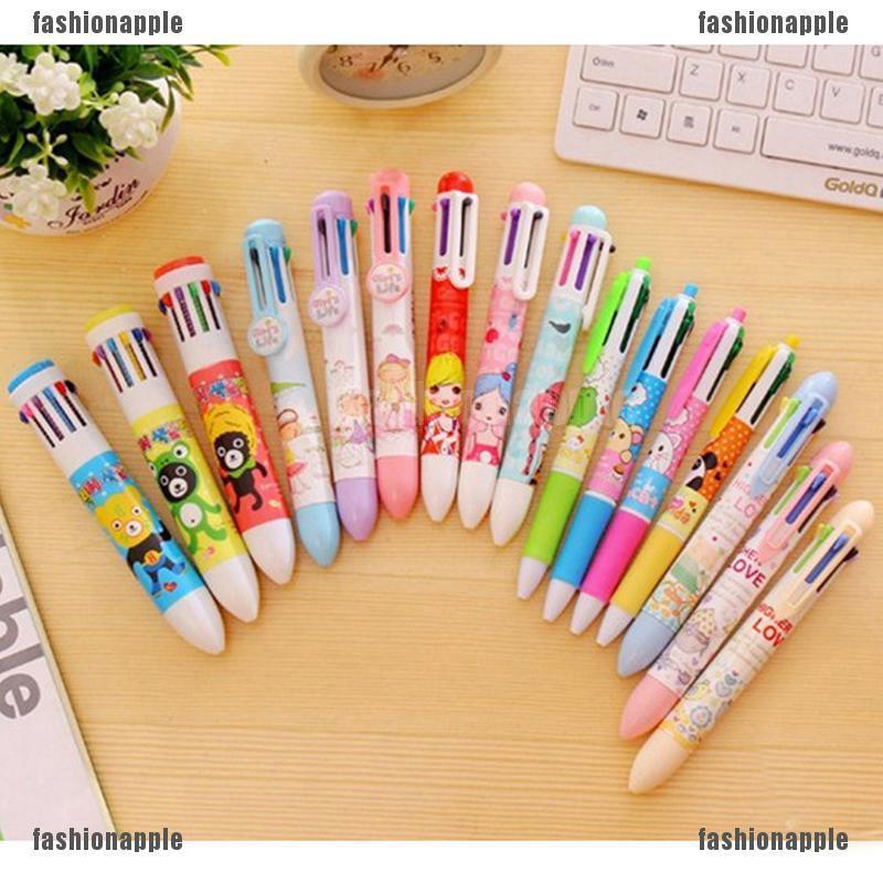 1Pc//Set Multi-Color Random 7 In 1 8In 1 10 In 1 12 In 1 Pen Kids School Supply C