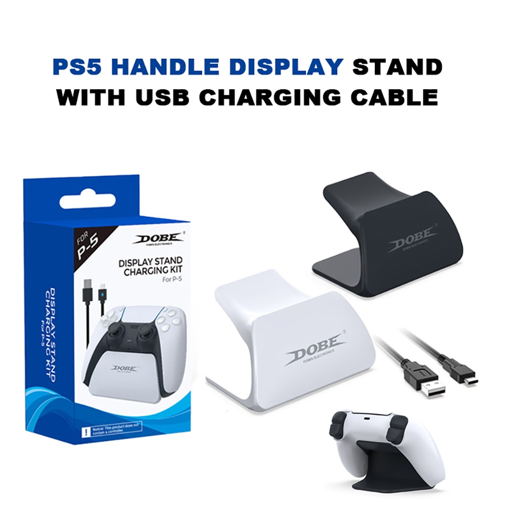 SONY PlayStation5 Controller Display Stand With USB Charging Cable Game  Bracket Stand Desktop Display Stand For PS5 Accessories   Shopee Singapore
