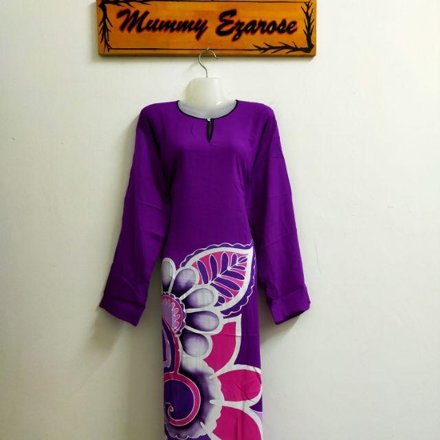 Batik Lukis Lengan Panjang (Batik Viral)