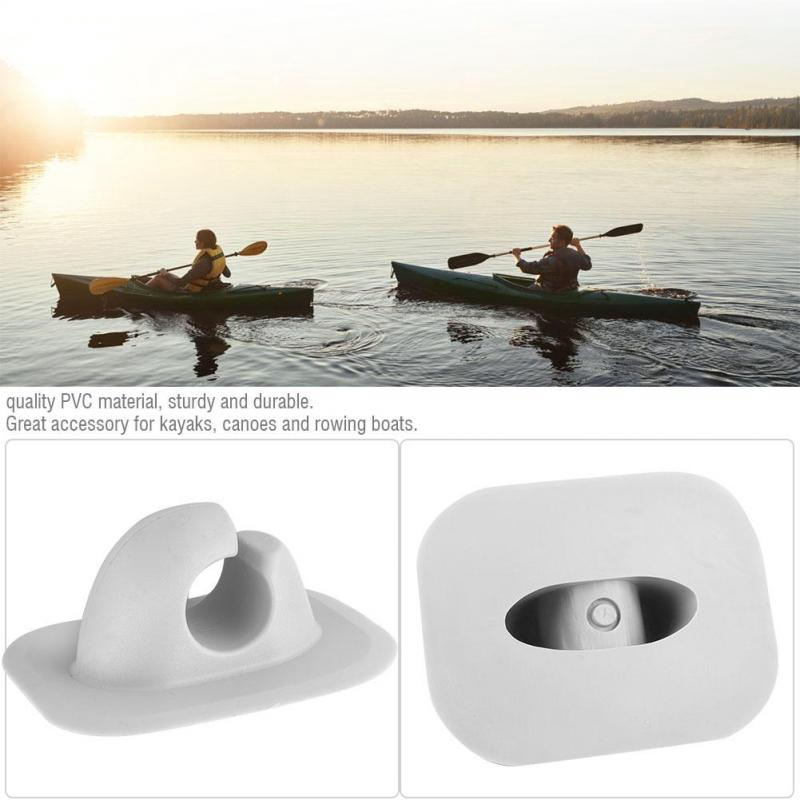Pvc Fishing Rod Holder Mount Patch Inflatable Kayak Boat Fish Pole Keeper Accessories