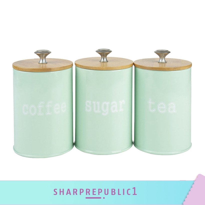 Kitchen Metal E Seasoning Canister, Metal Storage Canisters