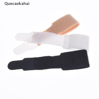 Quecaokahai 1pc rubber gel toe straightener separator