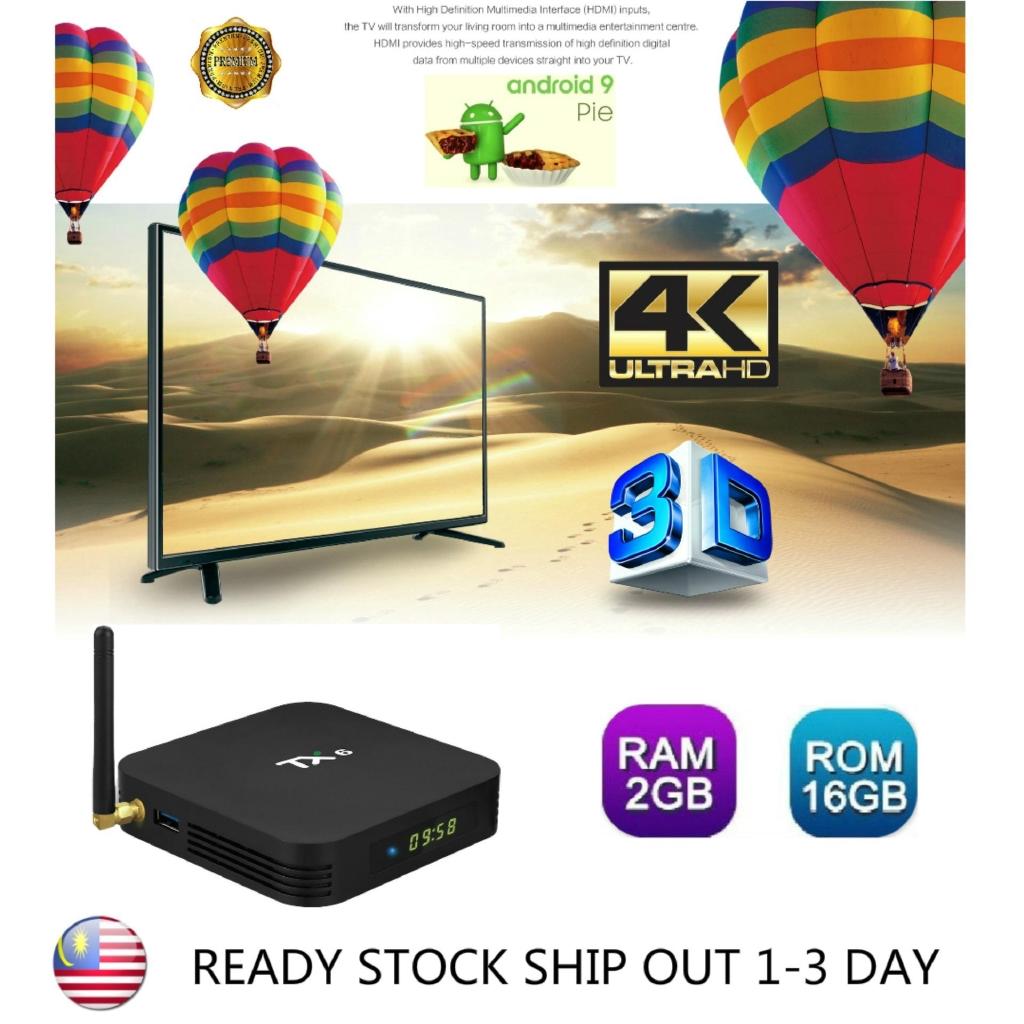 New tx6 tvbox 2gb+16gb smart tvbox android box iptv mini tvbox malaysia