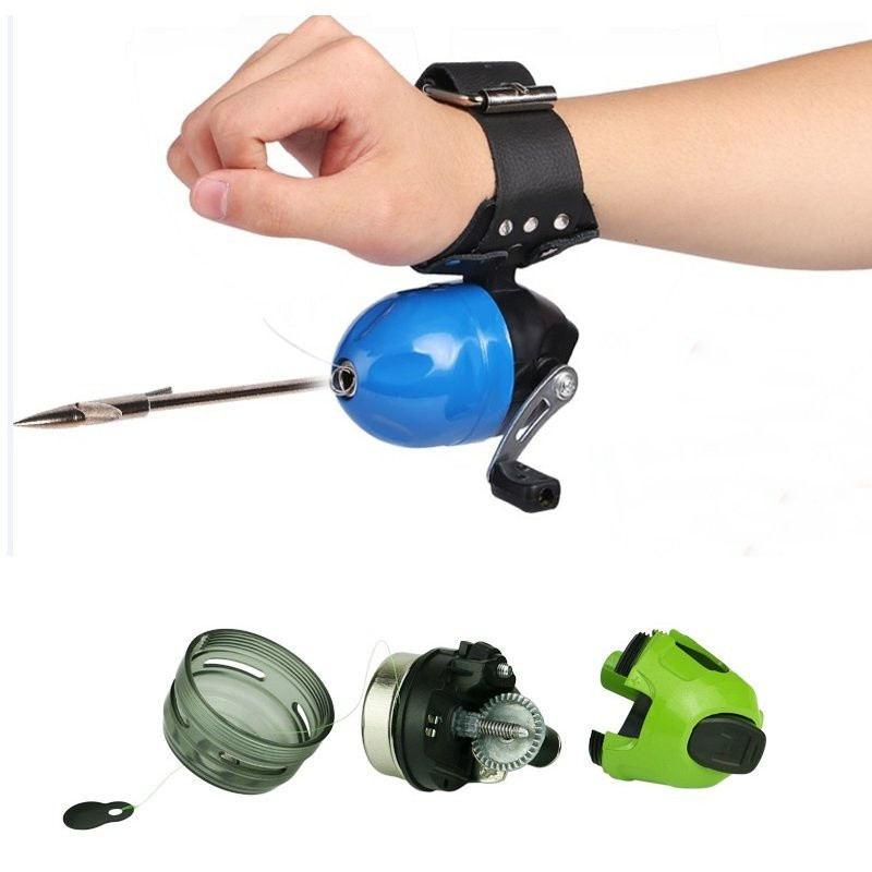 Fishing Reel Slingshot Wheel Closed Shooting Dart Reel Hunting Fish Tool Hot | Shopee Singapore