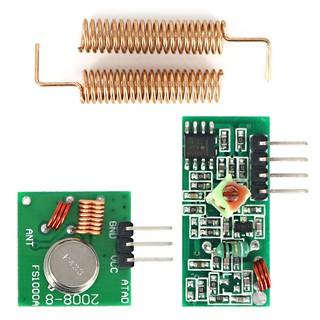 RF Transmitter Receiver Module 433MHz Wireless Link Kit for
