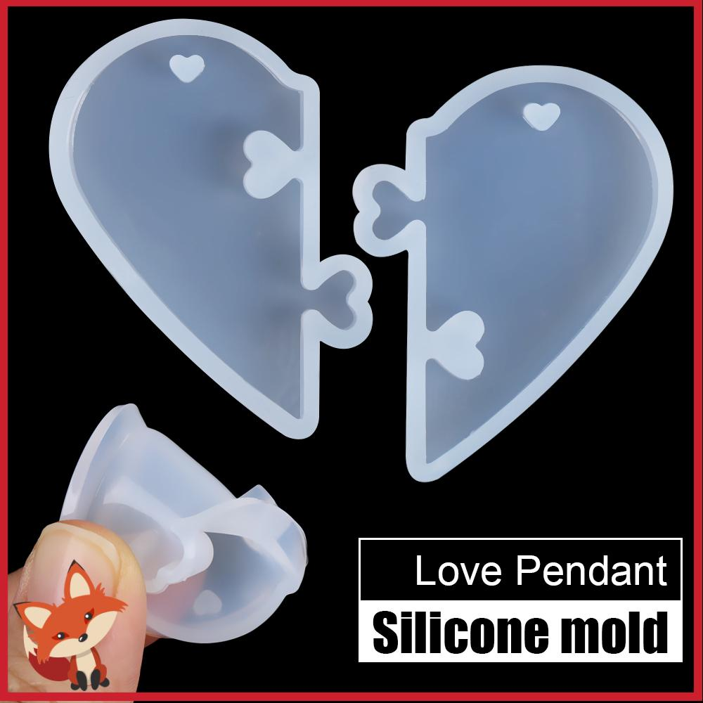 Dropping Glue Silicone Molds Resin Comb Mold Pendant Mould Jewelry Making Tool