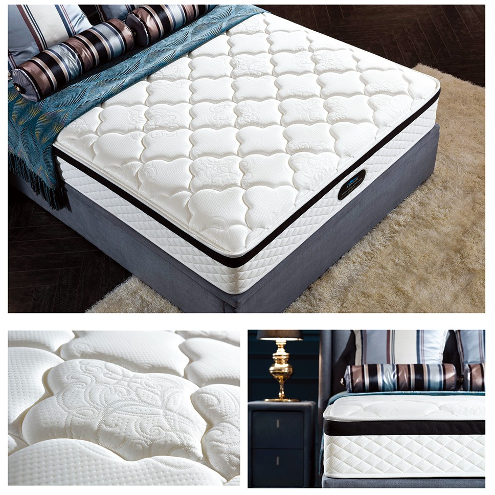 AMOUR 10 Inch Premium Pocket Spring Mattress With Latex Top (All sizes  available) | Shopee Singapore