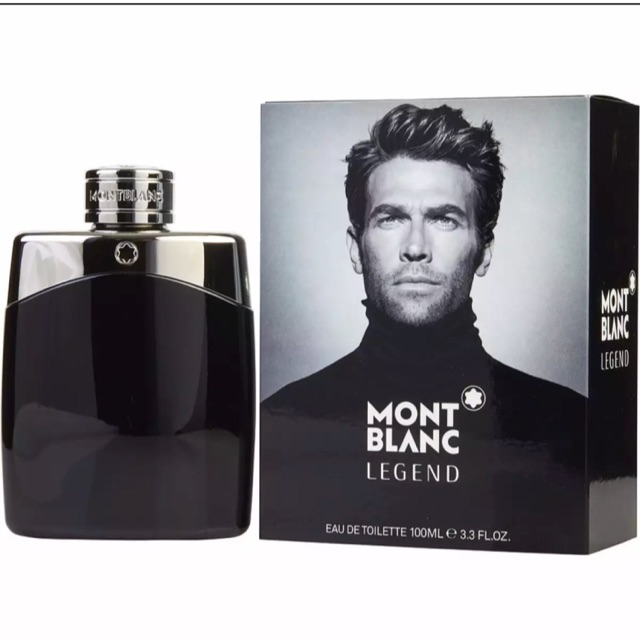 Mont Blanc Legend EDT 100ml for Men -Original Perfume | Shopee ...