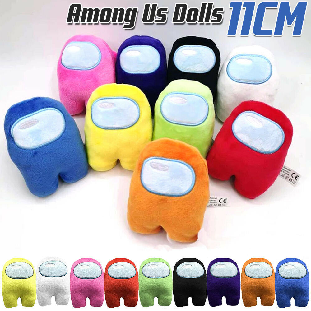 9 Colors Among Us Plush Soft Stuffed Toy Doll Game Figure Plushie Kids Toys 11cm Shopee Singapore