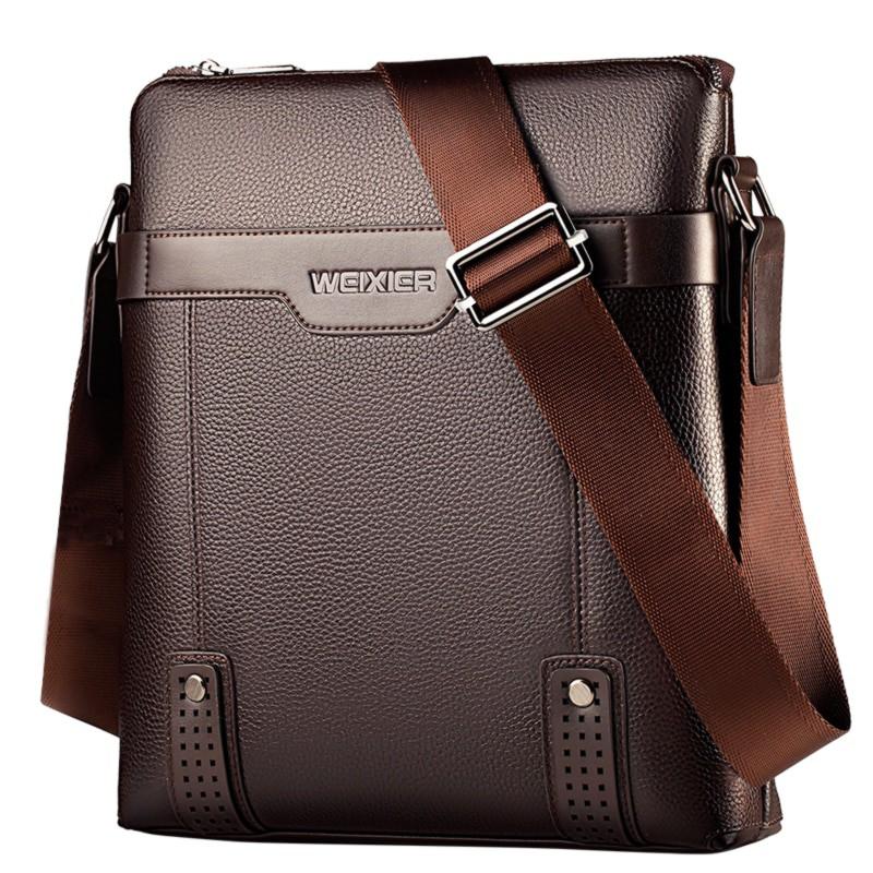 Pu Leather Men Messenger Bags