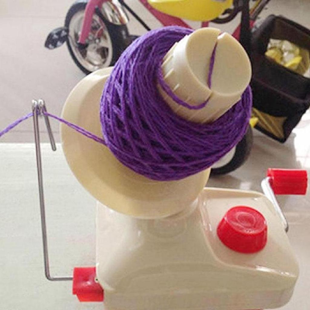 Home Swift Yarn Fiber String Knitting Roll Ball Wool Winder Holder Hand Operated