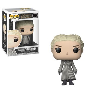 Pop Game of Thrones Pocket Porte-clé Daenerys White Coat Funko