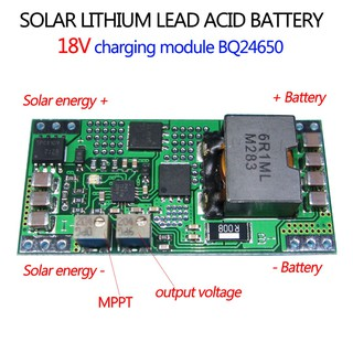 High Efficiency Synchronous Switch-Mode Charger Controller Solar BQ24650