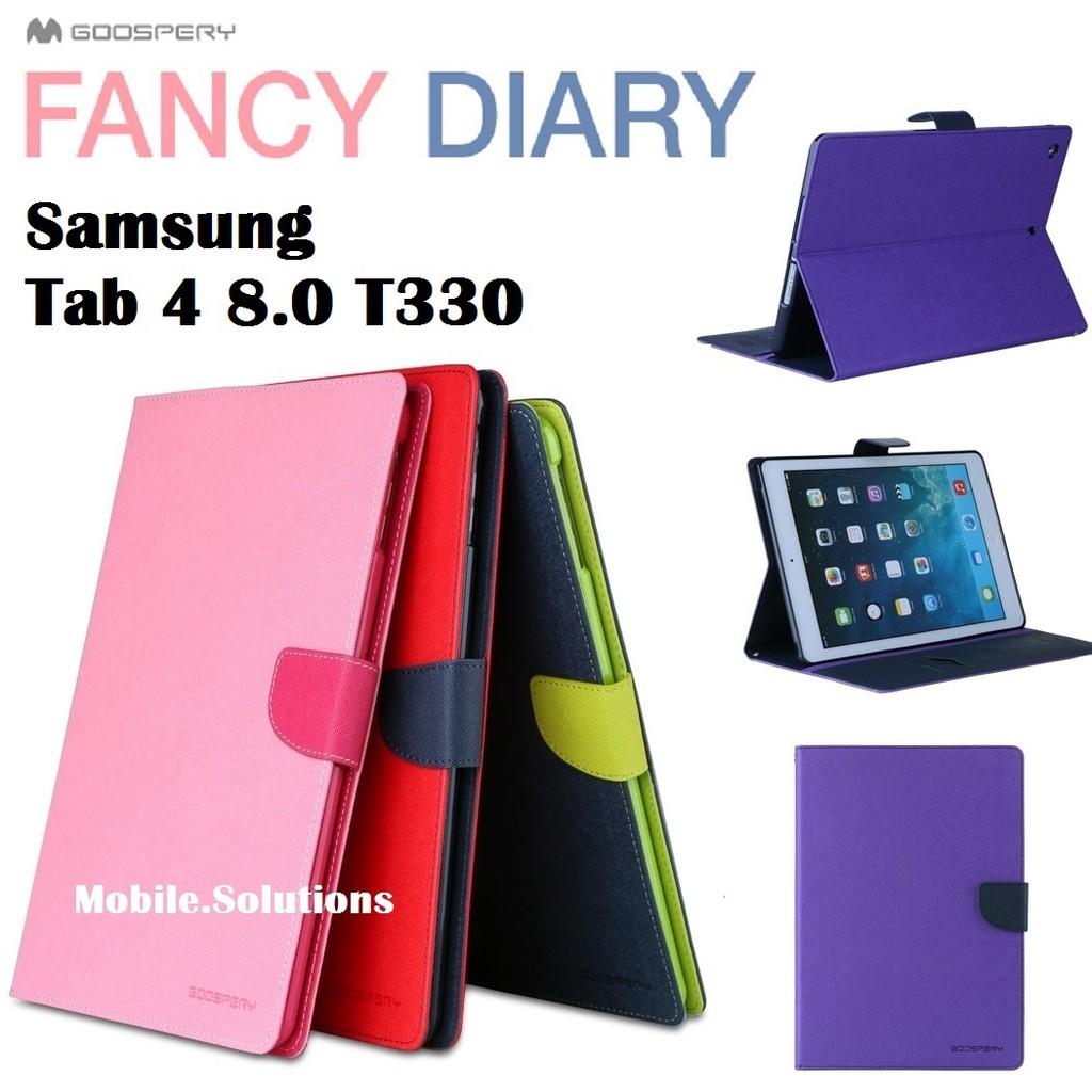 Goospery Samsung Tab 3 70 P3200 Fancy Diary Case Authentic Xiaomi Mi 6 Canvas Black Shopee Singapore
