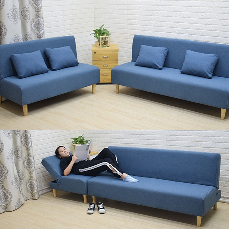 Sofa bed dual-use single double simple multi-functional ...
