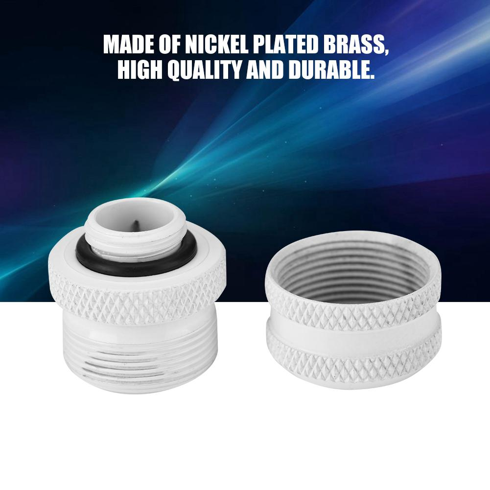 Water Cooling Tube Fittings 2 Pcs / Pack Water Cooling