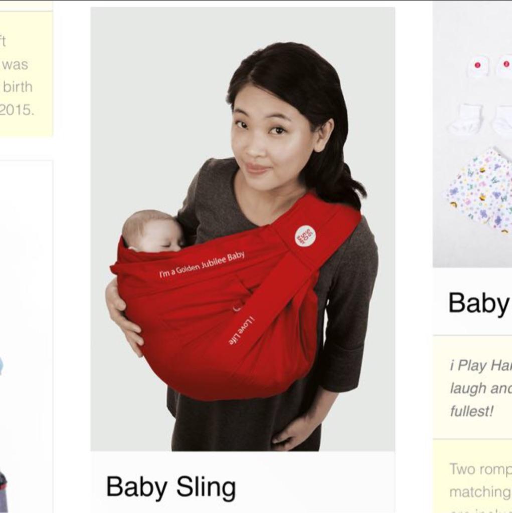 a0f151665bd SG50 Baby Sling