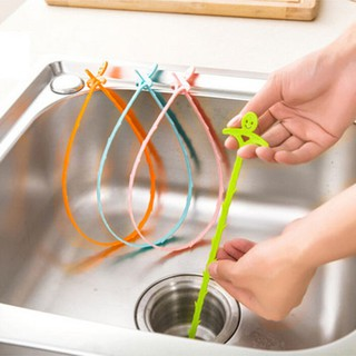 Kitchen Sink Drain Cleaner Bathroom Toilet Removal Clog Hair