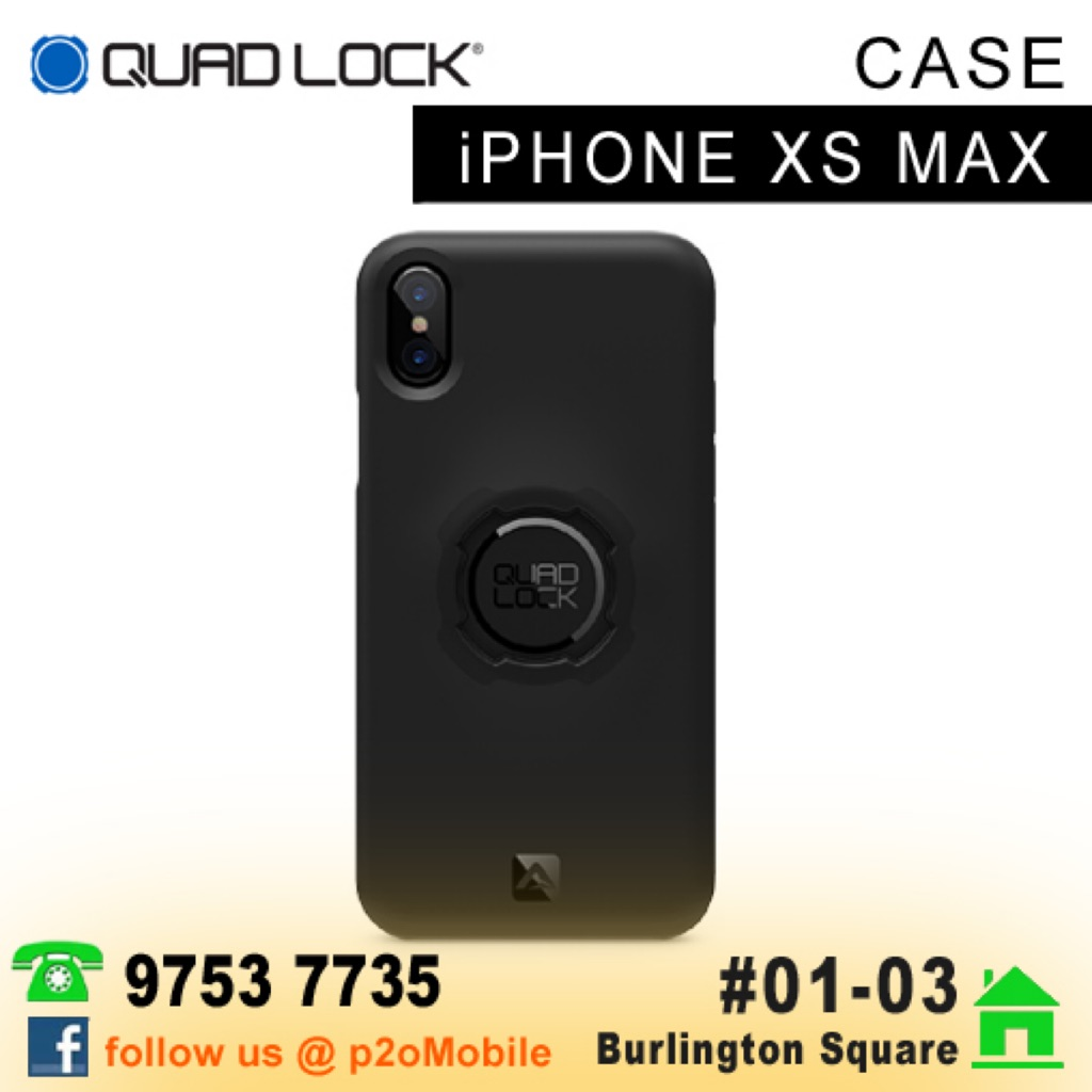 the best attitude dbbbc 40a5d [iPhone XS Max] Quad Lock Case for iPhone XS MAX