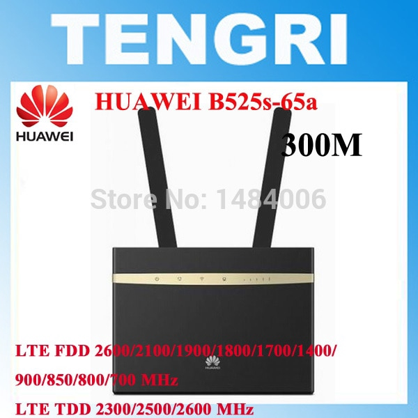 Huawei B525 B525S-65a 4G LTE Cat6 CPE Wireless Router Support FDD TDD  +antenna
