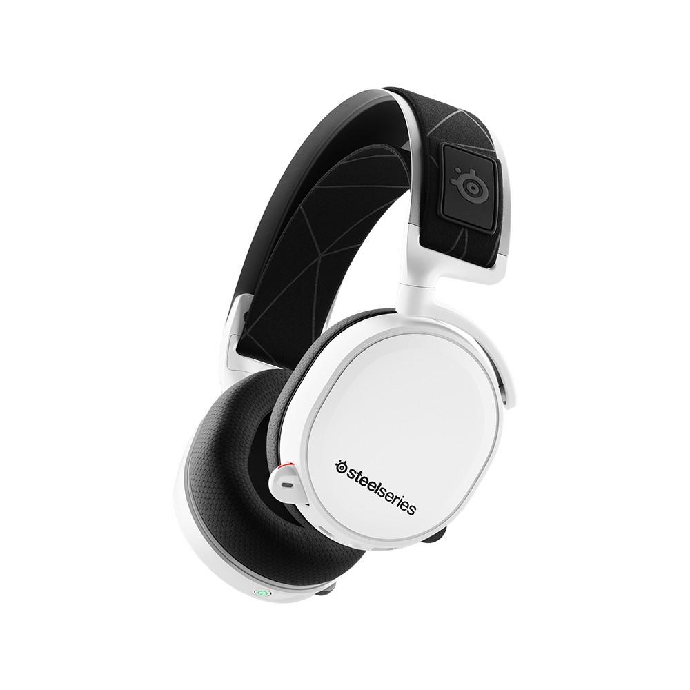 e19fddb32a6 SteelSeries Arctis 7 White 7.1 DTS Headphone X(2019 Edition) | Shopee  Singapore