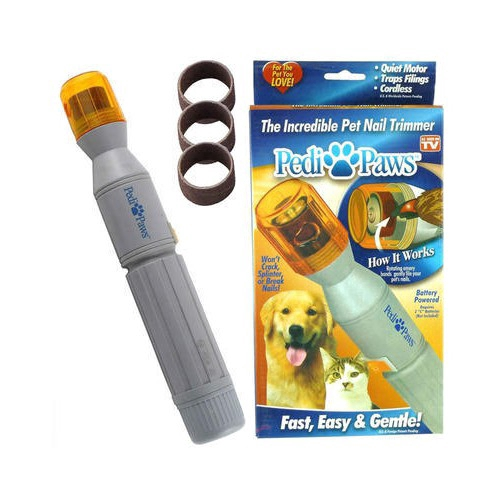 Pedi Paw Cat Dog Nail Trimmer Clipper Pet Grinder Grooming Tool Care ASOTV  | Shopee Singapore