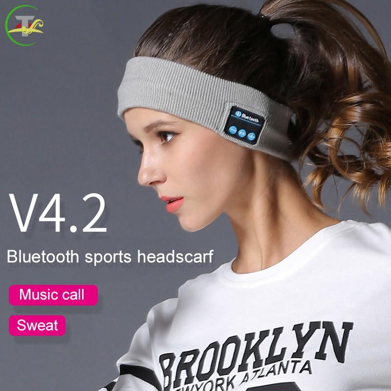 Tg Bluetooth Headband Sleep Headphones 10m Wireless Music Sport Headbands Long Time Play Sg Shopee Singapore