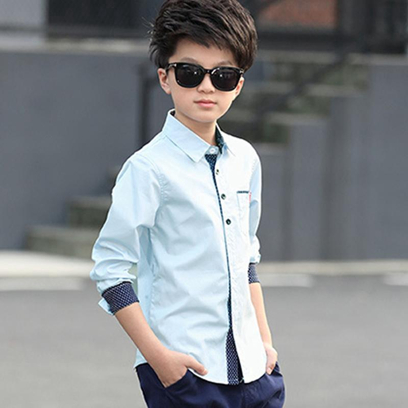 Children Clothing Boy Casual Shirts Long Sleeve Fashion Kids Boys Shirts  Clothes   Shopee Singapore