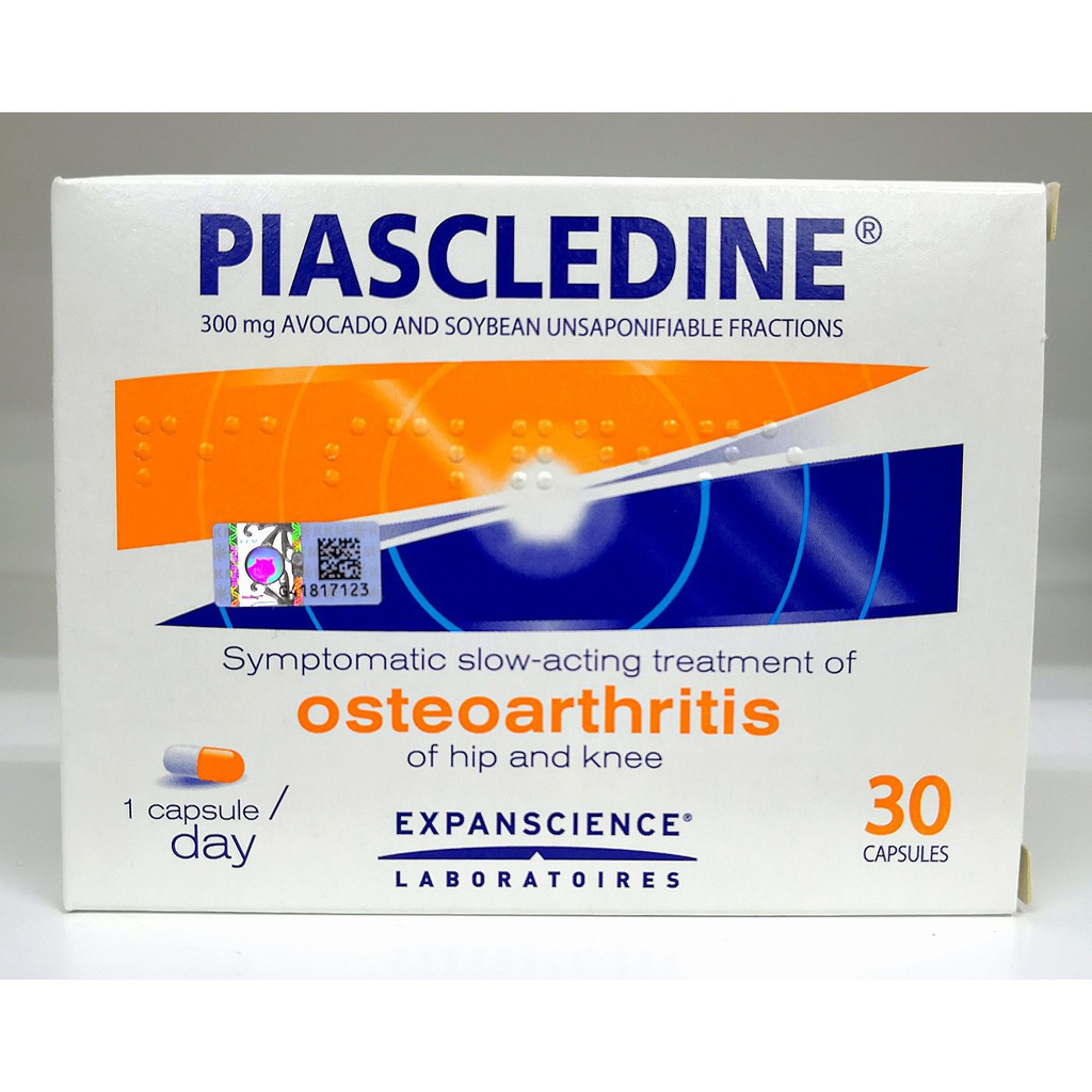 PIASCLEDINE 300MG CAPSULES JOINT PAIN For hip and knee osteoarthritis