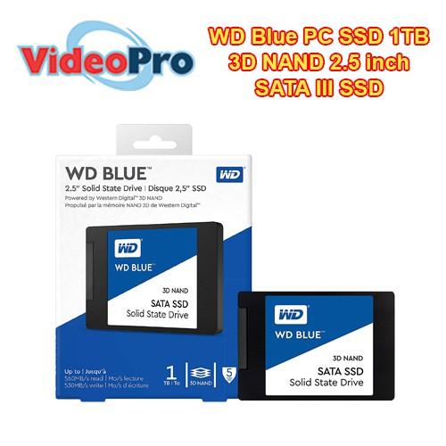 WD Blue PC SSD 1TB 3D NAND 2 5inch SATA III SSD WDS100T2B0A