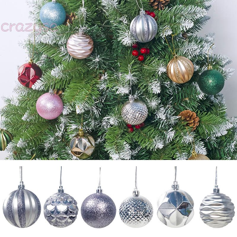 Details about  / Artificial Cactus PVC Christmas Tree LED Lights and Ball Ornaments NEW