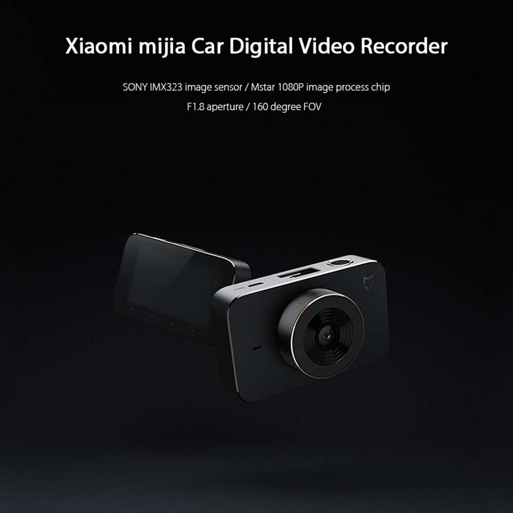 Xiaomi Mijia Smart Car DVR Car Recorder Dash Camera F1.8 1080P WIFI 160 Degree