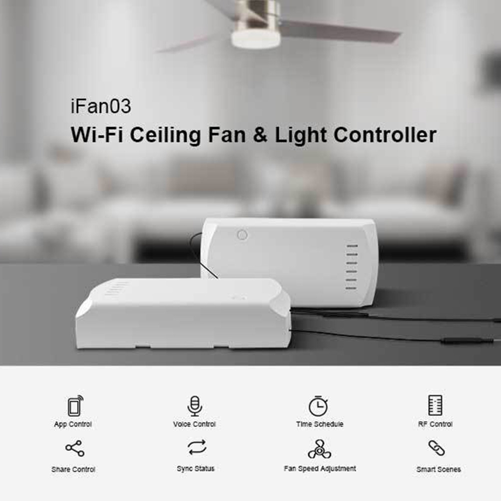 Electronics Remote Control Sd Ceiling Fan Controller Timing Smart Home on