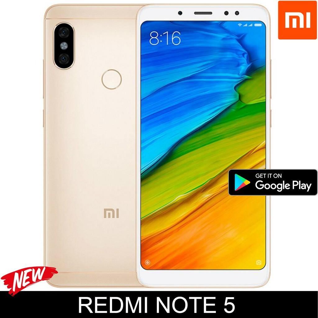 Xiaomi Redmi Note 5 Global Rom AI Dual Camera 18:9 Full Screen 32GB 64GB (Export set)
