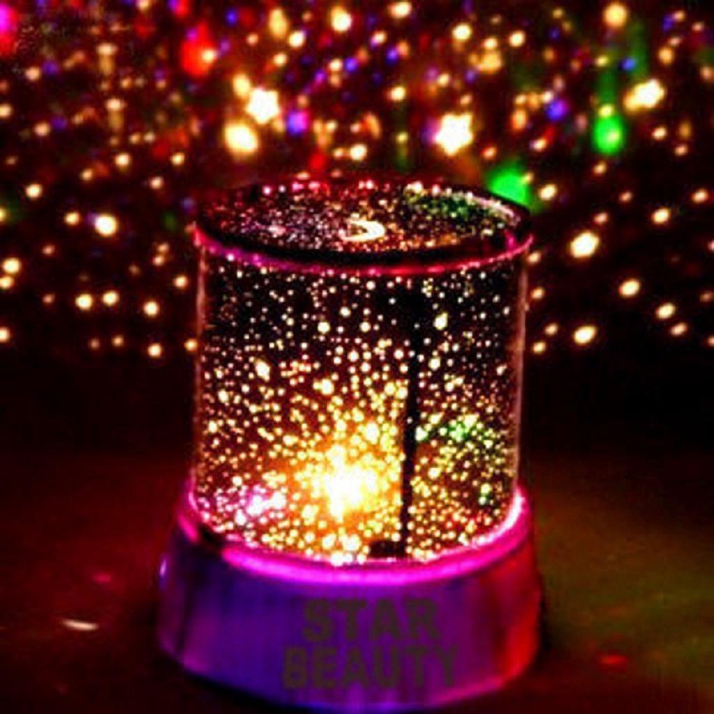 Coloful Led Night Light Star Projector