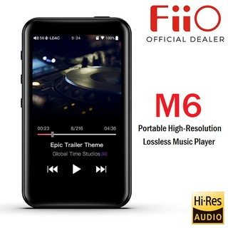 FiiO M6 Portable High-Resolution Lossless Music Player