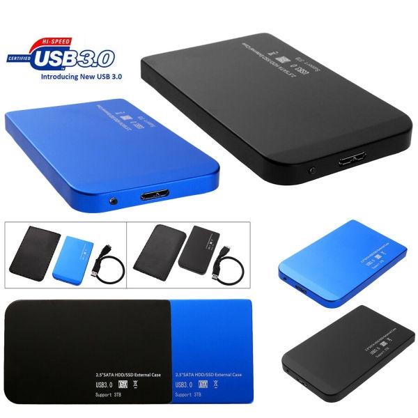 2.5 Inch USB 3.0 SATA SSD HDD Hard Drive Dock Station Enclosure Case