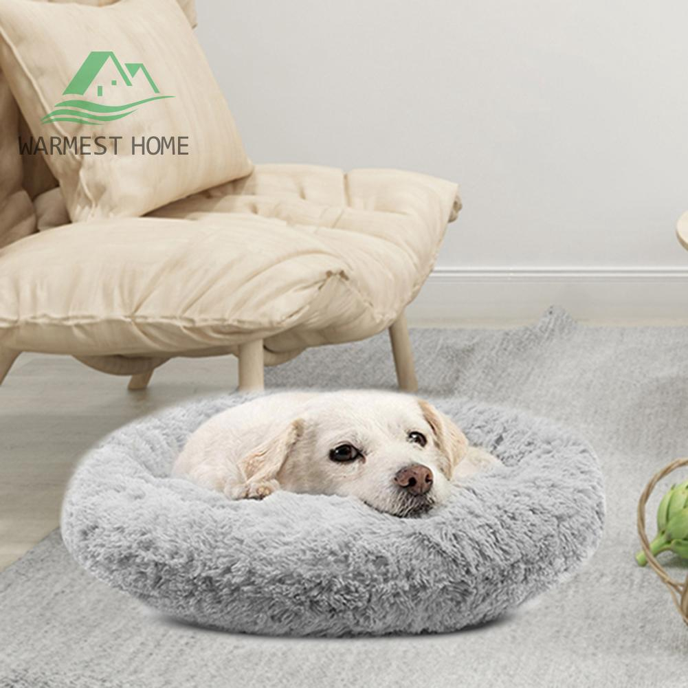 Long Plush Soft Dog Bed Kennel Puppy