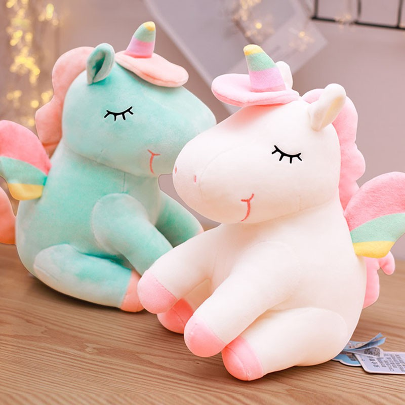 Pikmi Pops Style Surprise Scented Jumbo Plush Dream The Stretchy Unicorn 17cm