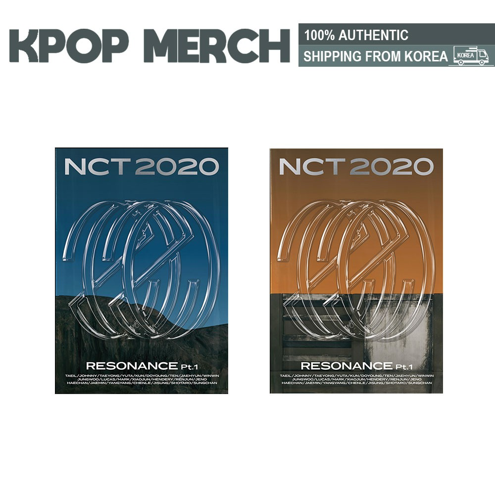Pre Order Nct 2020 Nct 2020 Resonance Pt 1 Incl One Random Photocard Shopee Singapore