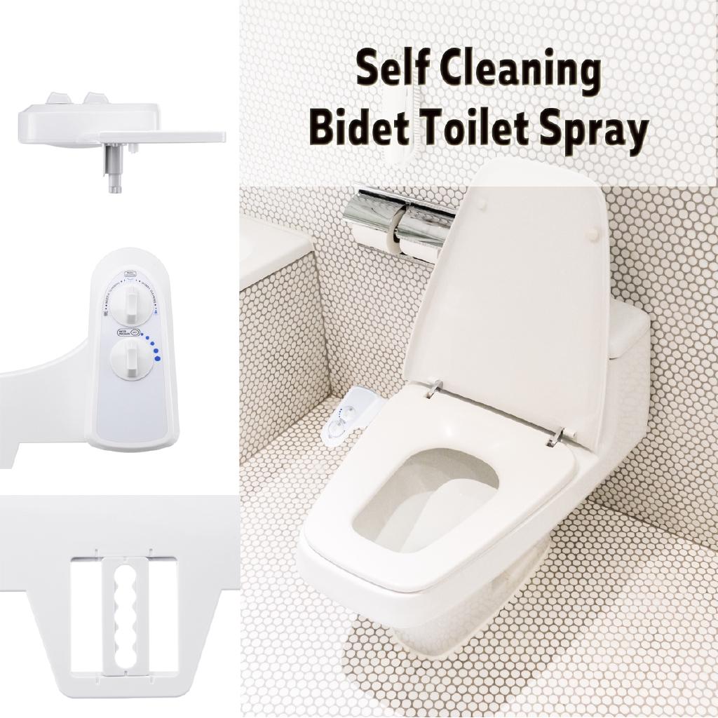 Toilet Bidet Seat Spray Water Female Self Cleaning Bathroom With